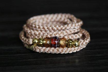 Ринговка для лабрадора со скользящим кольцом и украшениями